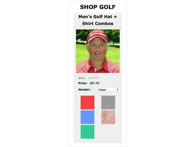 Image Swap for E-commerce