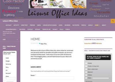 Leisure Office Ideas Blog
