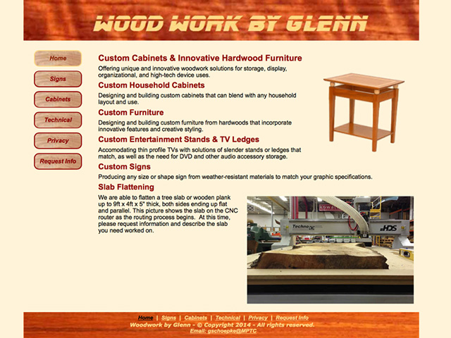 Wood Work by Glenn.com
